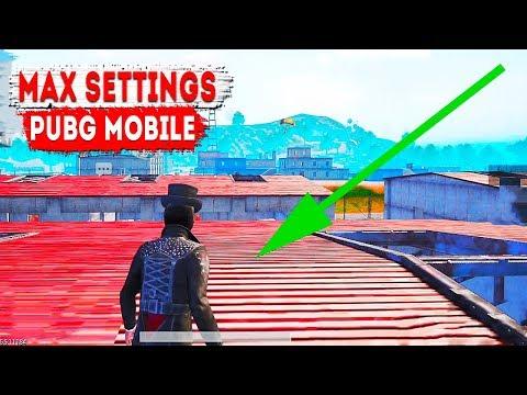 Максимальные настройки графики PUBG Mobile | Max Settings