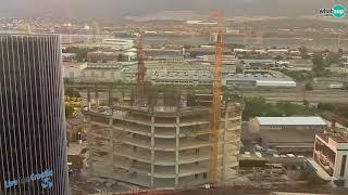Gradilište Split, West Gate – drugi toranj – hotel 1.5.-31.8. Timelapse gradnje