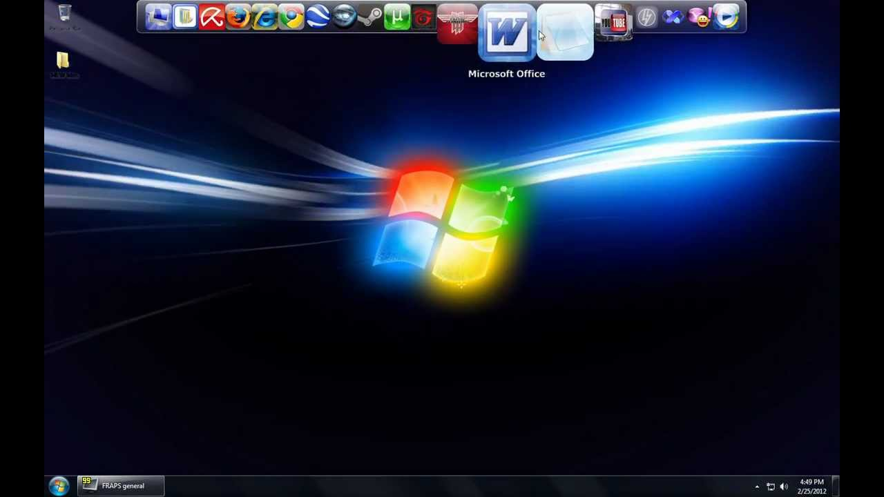 Windows 7 Dreamscene Animated Wallpaper Hd 720p Youtube