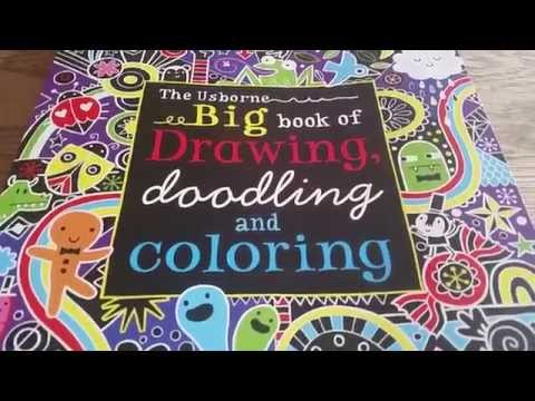 Usborne Big Book Of Drawing Doodling And Coloring