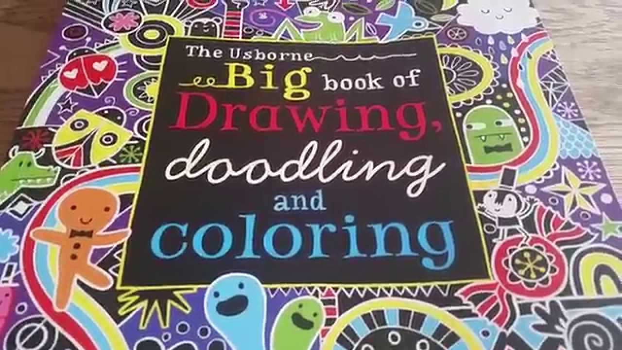Fantastic Coloring Book Wallpaper Small Coloring Book App Solid Bulk Coloring Books Animal Coloring Book Youthful Animal Coloring Books DarkBig Coloring Books Usborne Big Book Of Drawing Doodling And Coloring   YouTube