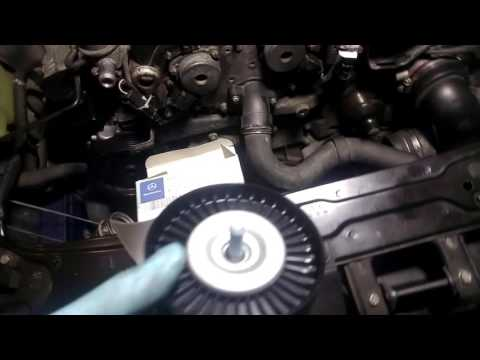 Mercedes Benz C230 (W203 M271) Idler Pulley Replacement
