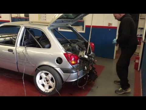 Rwd drive fiesta project first start up