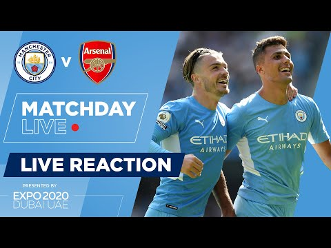 MANCHESTER CITY 5-0 ARSENAL    FULL TIME UPDATE    LIVE MATCHDAY