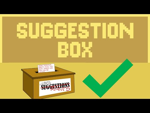 SUGGESTION BOX GAME : Company Recruits Public For Product Ideas! Round 1!