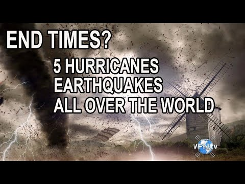 END TIMES? 5 Hurricanes and Earthquakes all over the World, and Coming Tsunamis - What  to know