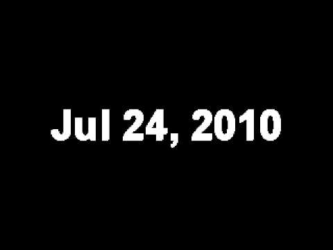 My Google Search History  July 2010