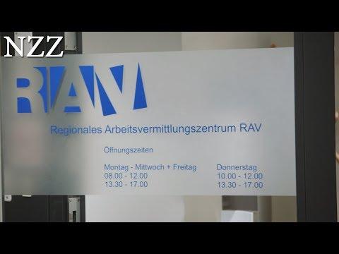Aufgeben Gilt Nicht! Arbeitslos In Der Schweiz. Ausschnitt Einer Dokumentation Von NZZ Format.