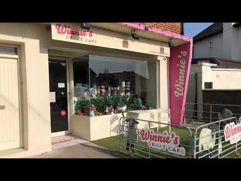 Visiting Winnie's Craft Cafe In Dublin, Ireland
