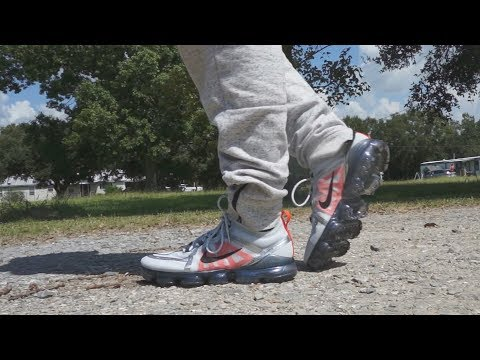 Nike Vapormax PURE PLATINUM Unboxing Review + on foot look