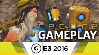10 Minutes of ReCore Gameplay - E3 2016