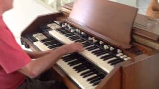 A Whiter Shade of Pale by Marty Tullemans on Hammond C3