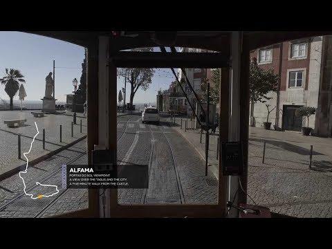A Tram Ride in Lisbon