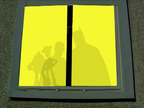 Two Silhouettes (on the shade) ::: Hermans Hermits