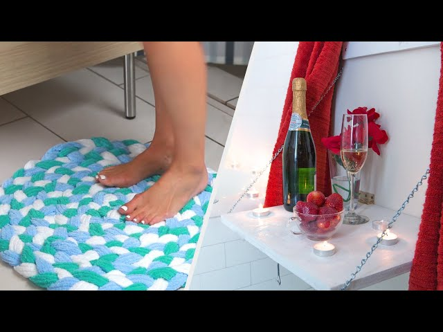 Decorate Your Bathroom With These Fun DIYs