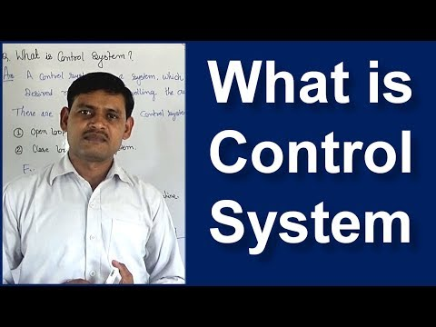 What is Control System in Hindi || Basics of Control System Engineering -