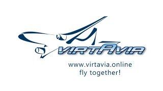 VIRTAVIA live - XP11 - ZIBO 737-800 Ульяновск - Краснодар (UWLL-URKK)