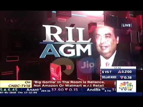 Mr. Rajan S Mathews, DG COAI On The RIL AGM 2018 | CNBC TV18