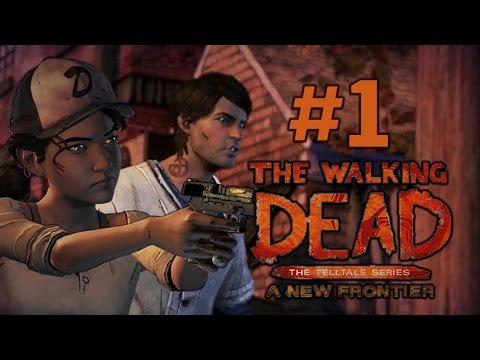 Walking Dead A New Frontier - 3ий сезон Ходячих Мертвецов - Прохождение на русском - часть 1