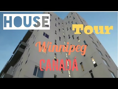 House Tour! Depa de 1 recámara en Winnipeg, Canadá