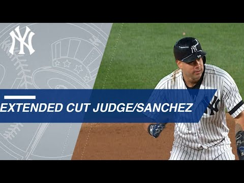 Extended Cut of Judge, Sanchez giving Yankees lead
