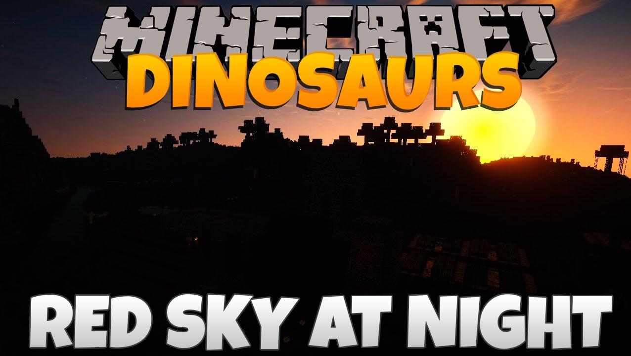 Minecraft Dinosaurs - Part 50: Red Sky At Night  - BestInSlot