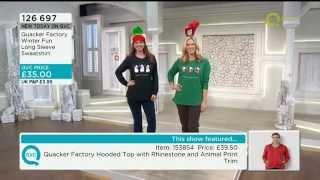 Catherine Huntley - QVC - Quacker Factory Fashion - 25/10/2014 - 2.29pm