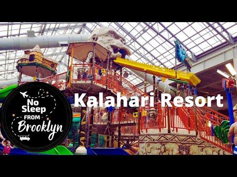 Kalahari Resort Poconos indoor waterpark and arcade 2016