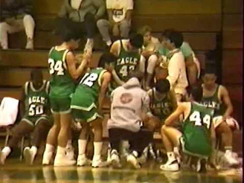 Eagle Rock High School (ERHS) 1987 Basketball Alumni game