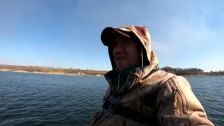 Первый весенний выезд на рыбалку Щука
