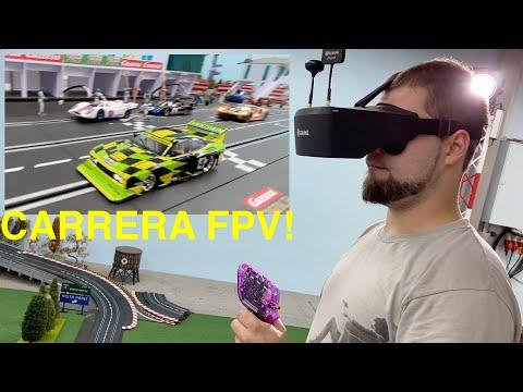 Slotcar FPV Camera in CARRERA 132 digital race car!