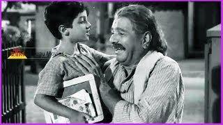 Chittoor Nagaiah & Kid Lovely Scene - In Mooga Nomu Telugu Movie