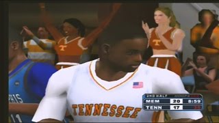 College Hoops 2K6  4 Memphis Tigers vs 18 Tennessee Volunteers
