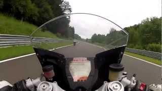 KTM RC8 Vs YAMAHA R6 @ Salzburgring