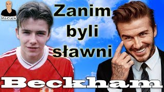 David Beckham | Zanim byli sławni