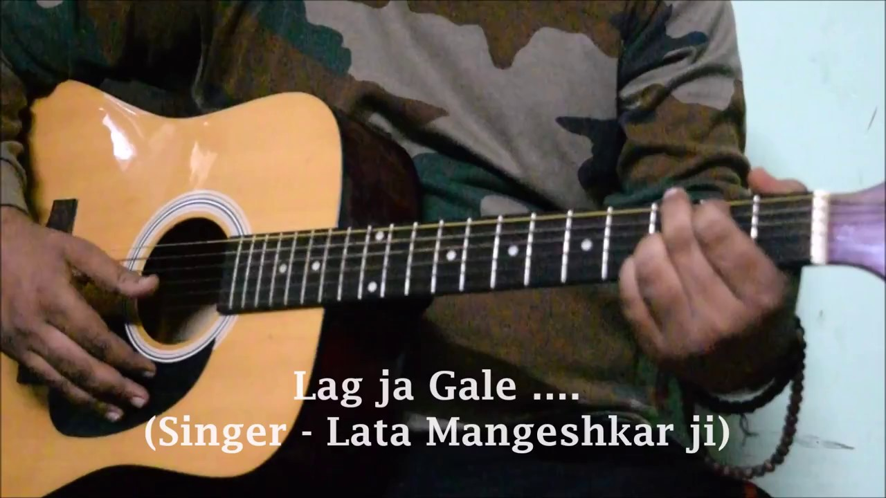 Lag Ja Gale Easy Guitar Lesson Chords Strumming Cover