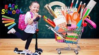 Öykü Okula Başlıyor - Kid Pretend Play Back to School game - Funny Oyuncak Avı