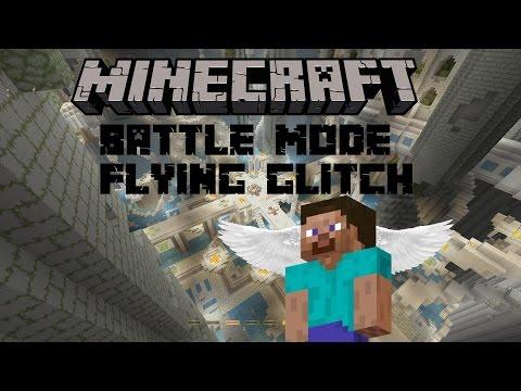{READ DESC} MINECRAFT BATTLE MODE FLYING GLITCH???? @4jstudios