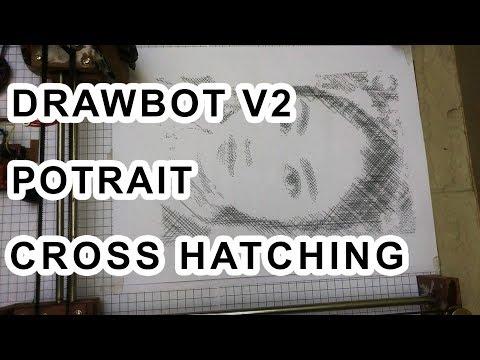 Arduino Drawing Machine | Crazy Engineer's Drawbot V2 | H-Bot | GRBL | Www.arnabkumardas.com