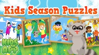 Kids Season Puzzles (Scott Adelman Apps Inc) - Best App For Kids