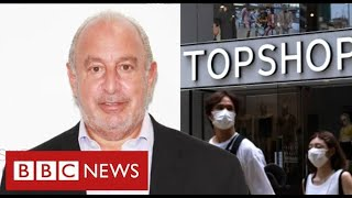 Philip Green's retail empire on brink with 13,000 jobs at risk  - BBC News