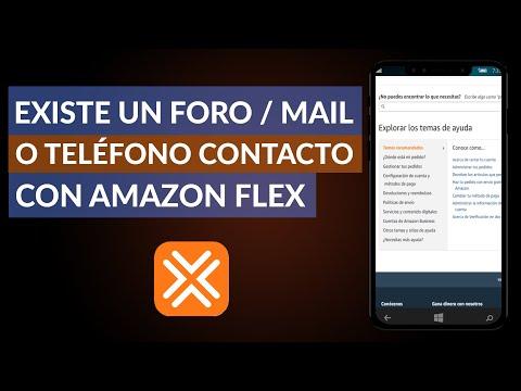 ¿Existe un Foro, Mail o Teléfono de Contacto con Amazon Flex? - Amazon Flex Support