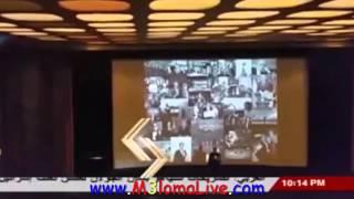 فيديو | سيدة تدفع 50 جنيه استرليني لتحضر برنامج باسم يوسف وتسبه بألفاظ خارجة في لندن