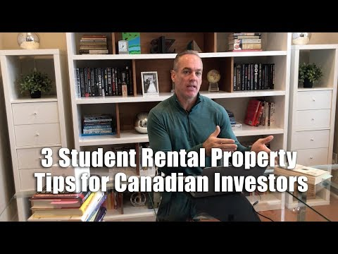 3 Student Rental Property Tips for Canadian Investors