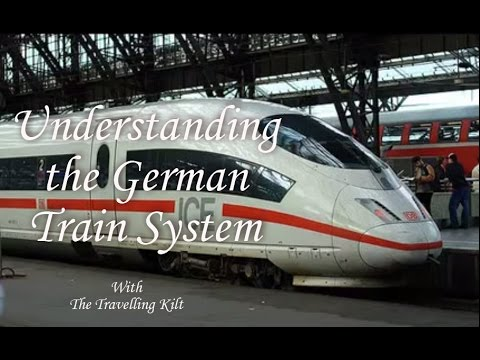 Understanding the German Train System