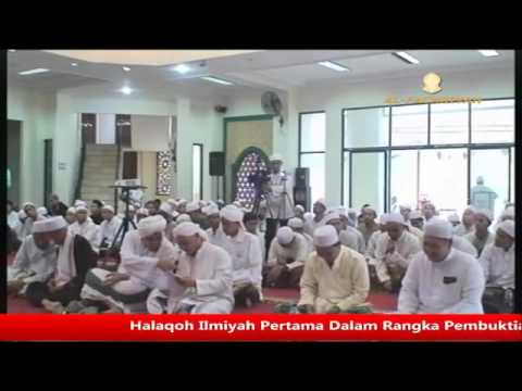 Halaqoh Ilmiyah I Pembuktian Al Alamah Al Muhaddits An Nassabah Al Habib Salim bin Ahmad bin Jindan
