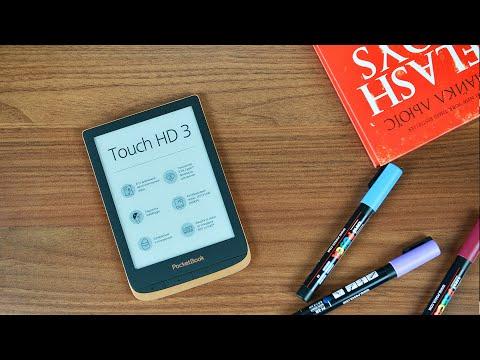 PocketBook Touch HD3 — премиальная электронная книга