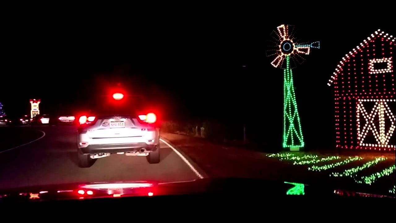 Holiday Festival Of Lights Charleston SC James Island 2014 YouTube - Christmas Lights In Sc