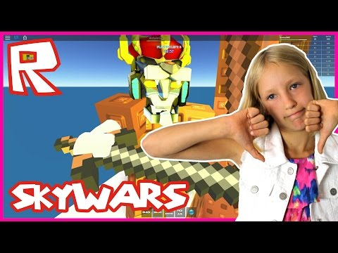 Skywars THEY ARE ALL TRADERS   Roblox