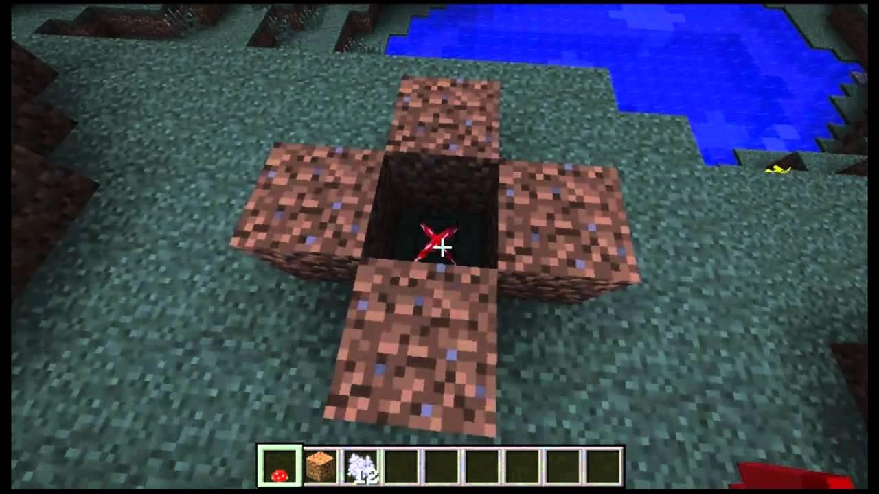Minecraft como hacer un hongo gigante youtube - Como cocinar las setas ...